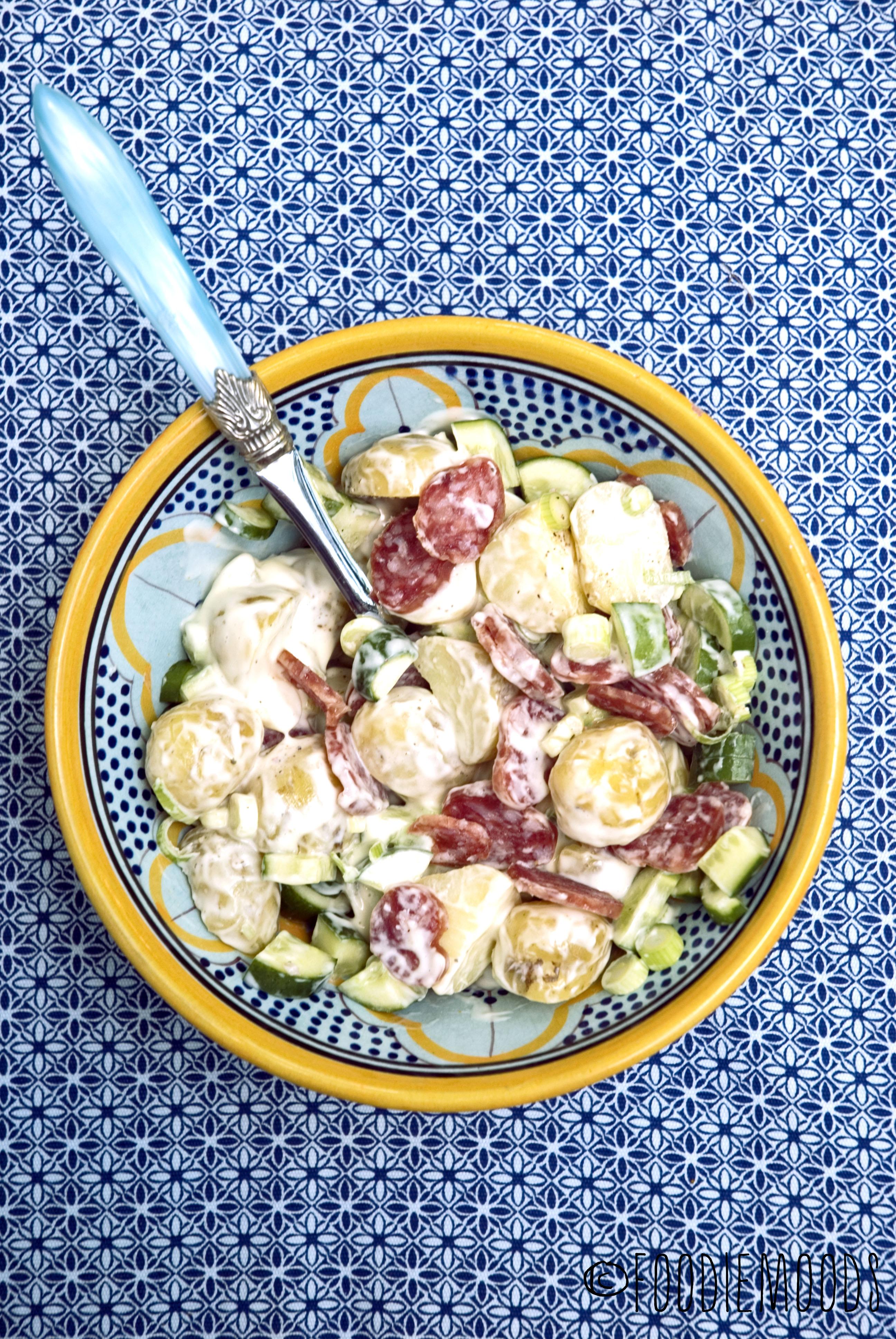 aardappelsalade kartoffelsalat miss foodie