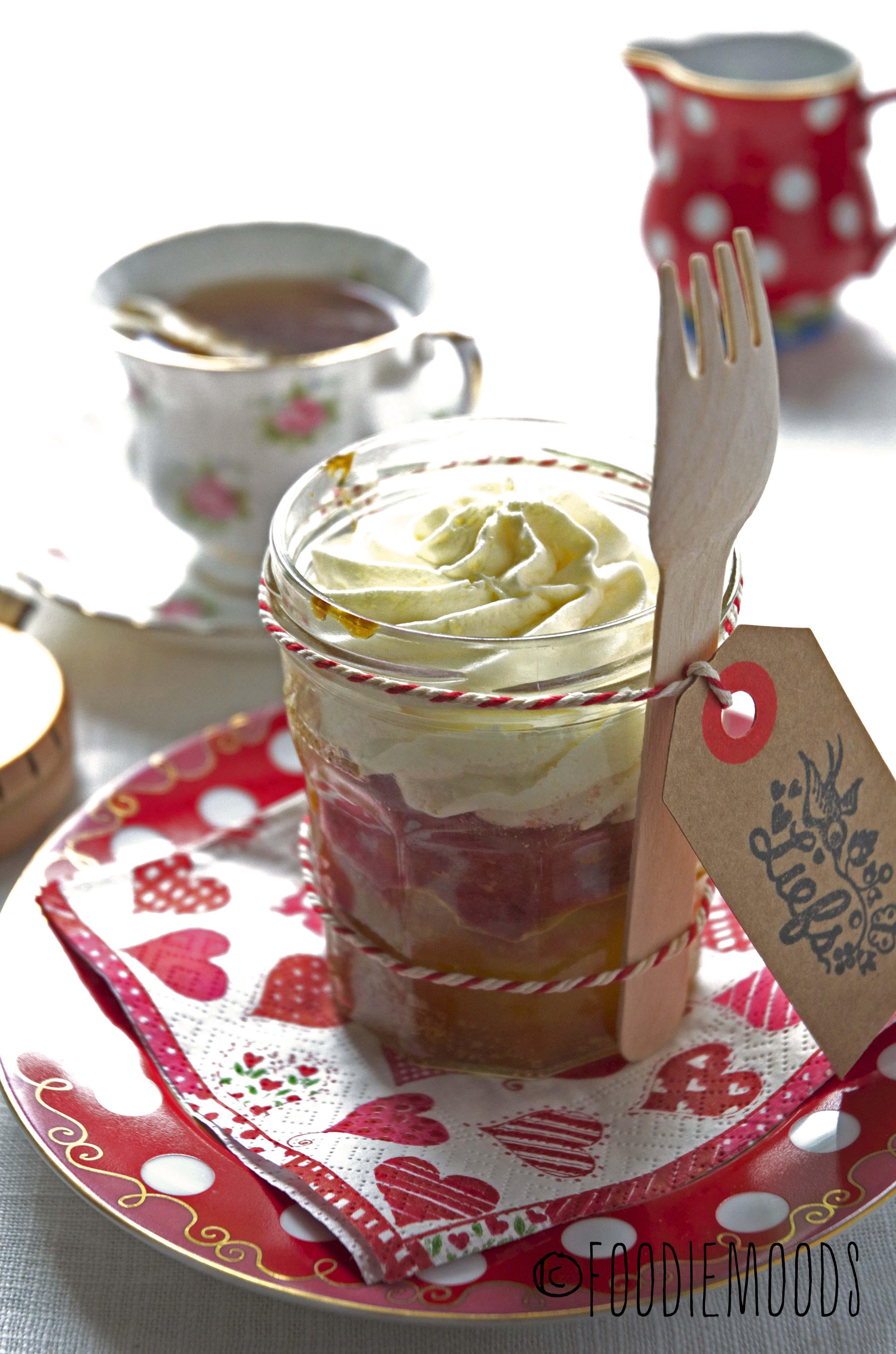 cake in a jar miss foodie