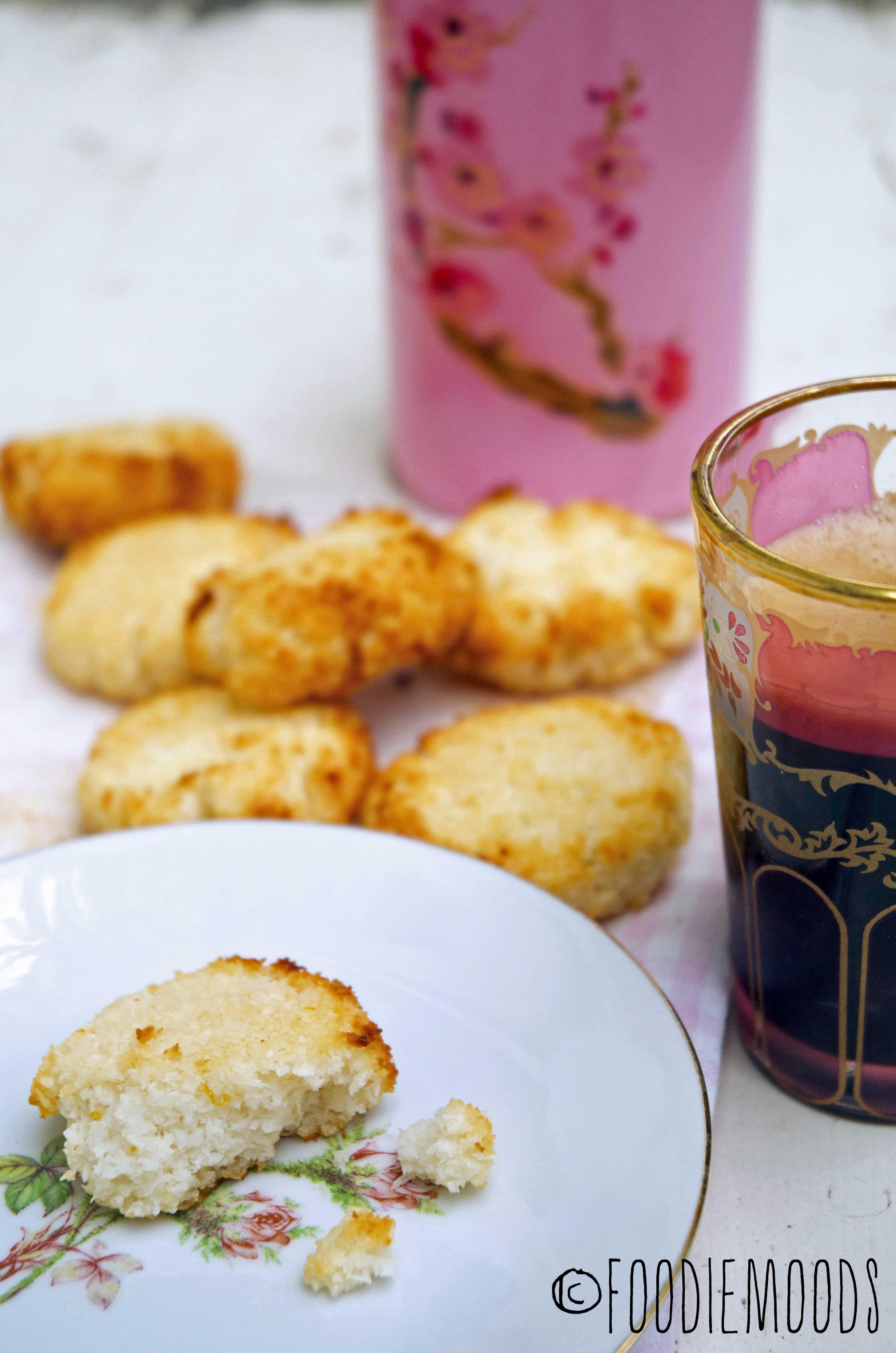 recept kokosmakronen Miss Foodie