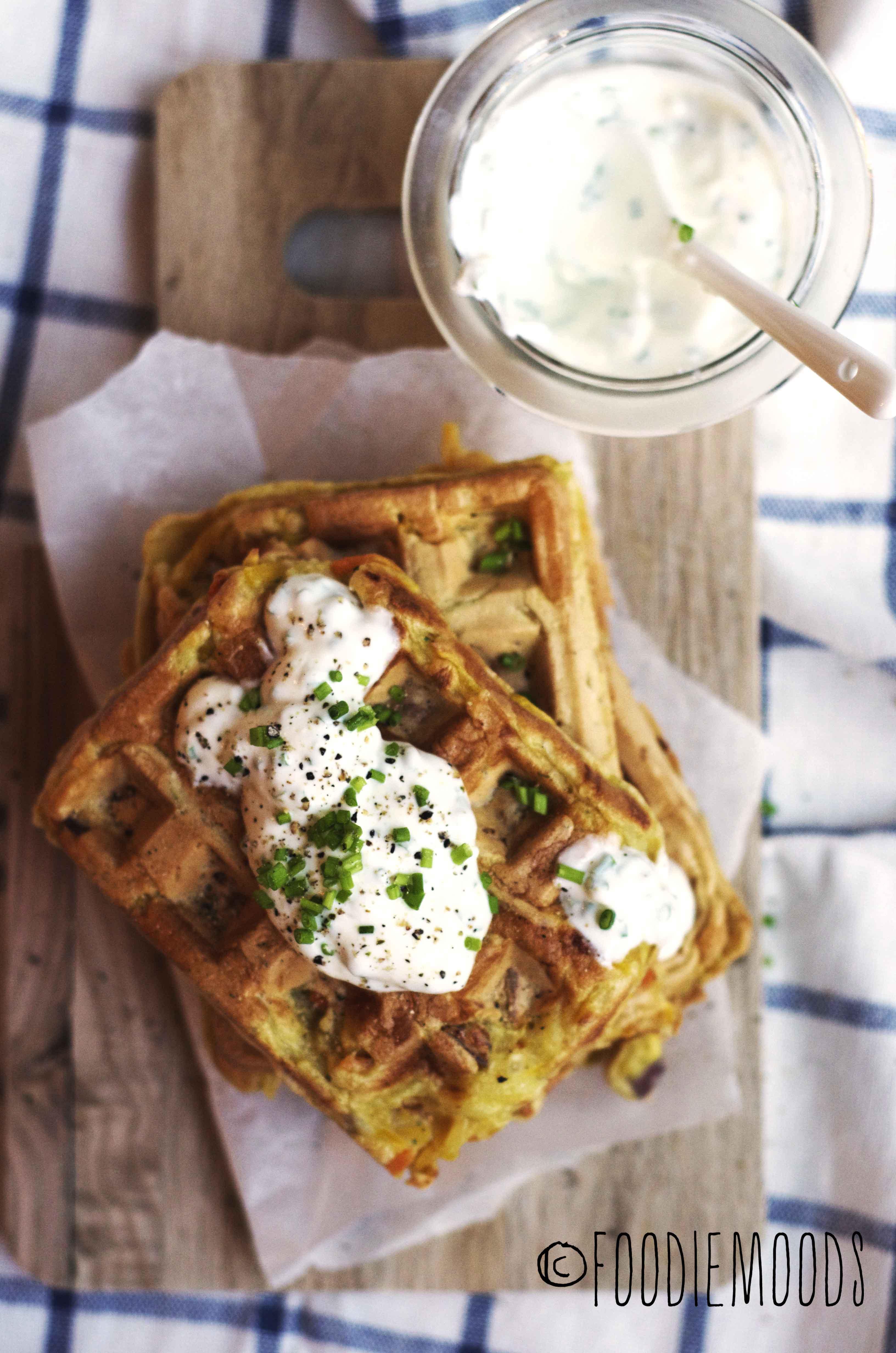 groentenwafels Okonomiyaki Miss Foodie recept foodiemoods