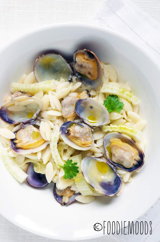 pasta vongole recept miss foodie
