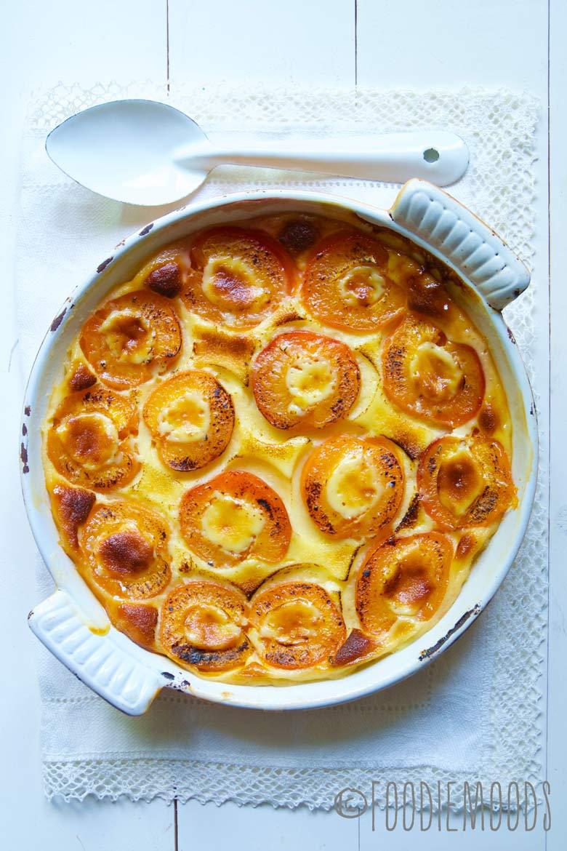 recept gebakken abrikozen met kardemomcustard foodiemoods