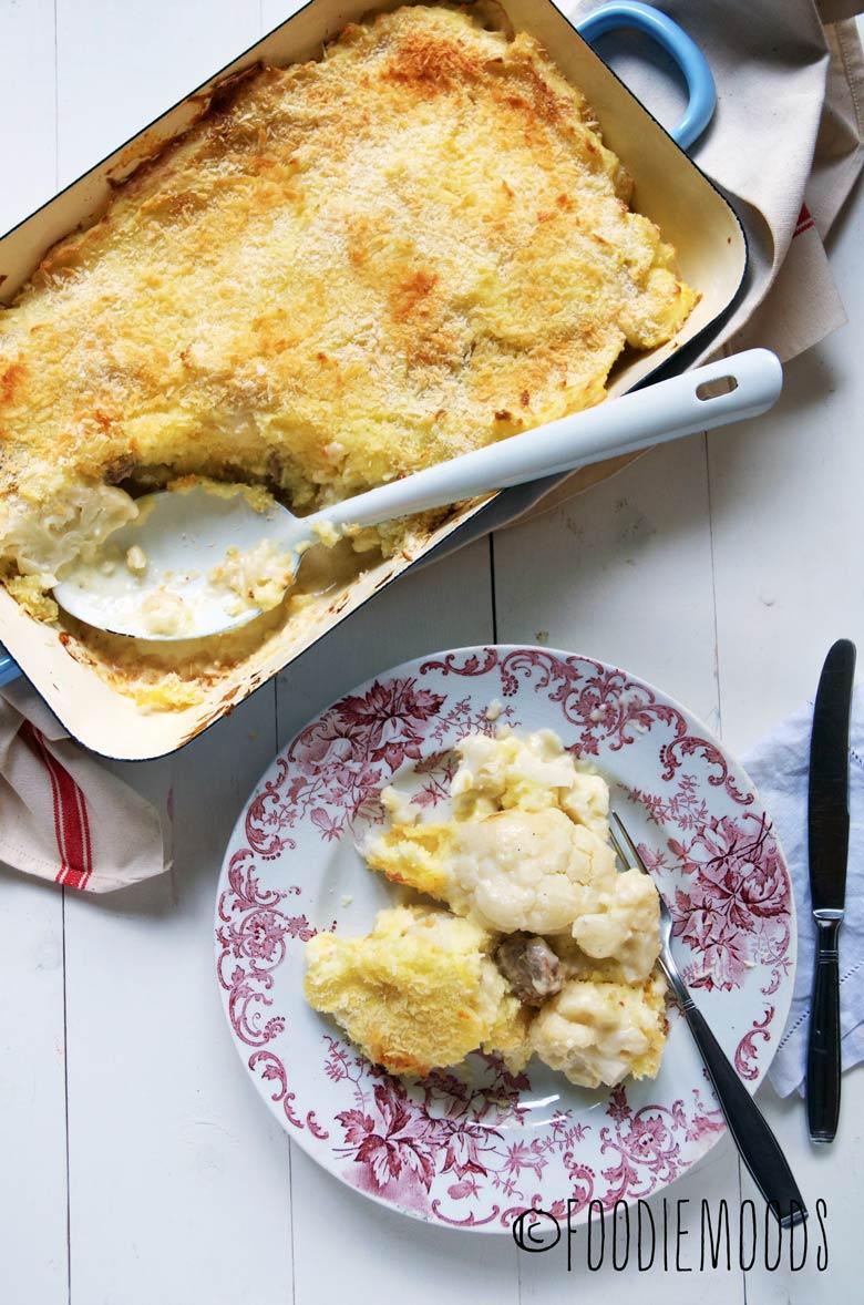 recept ovenschotel met bloemkool foodiemoods