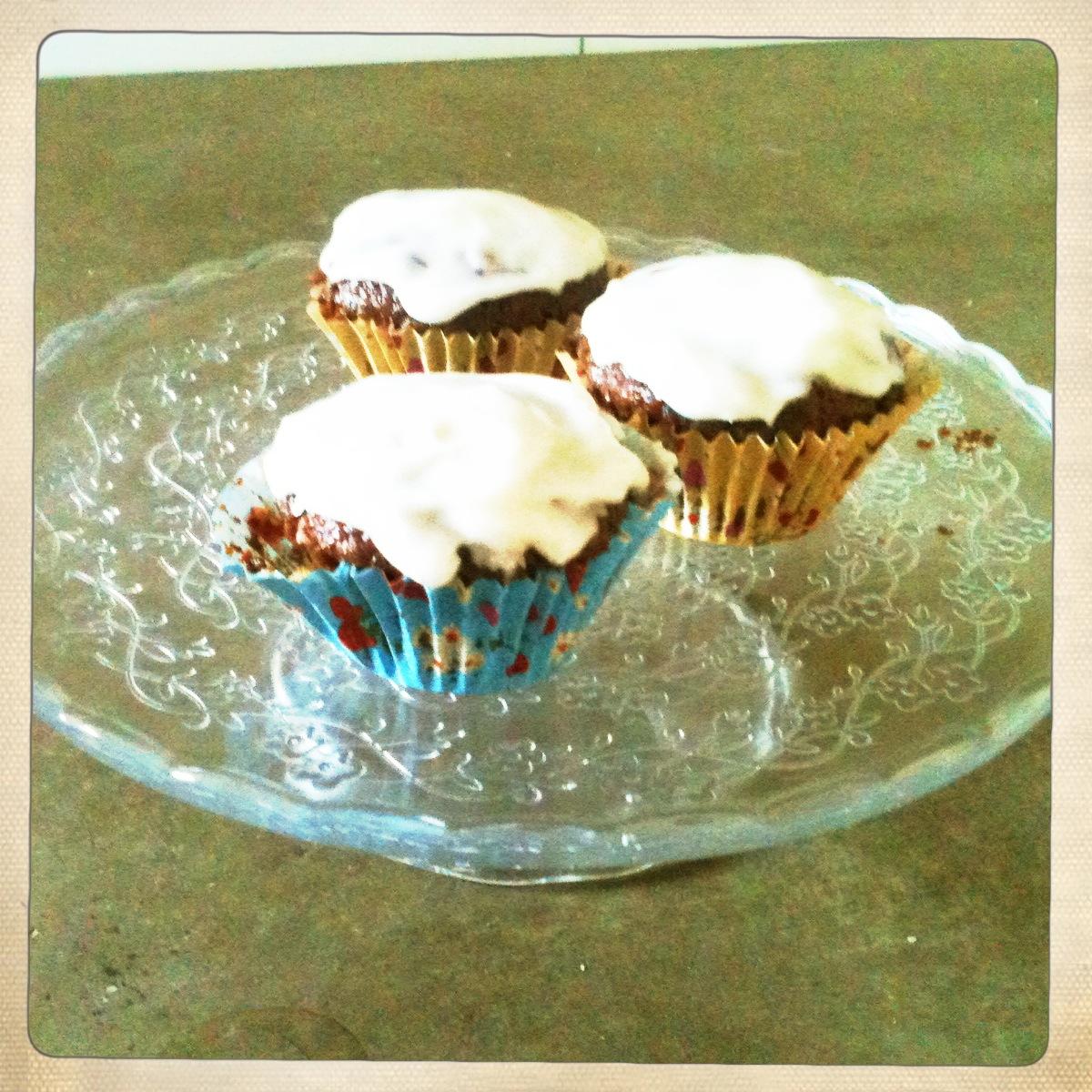 pompoencake cupcake recept Miss Foodie