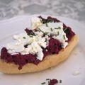 recept broodje bietenhummus met geitenkaas Miss Foodie