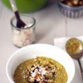 recept dal met knapperig zoete aardappel en kokoschutney Miss Foodie
