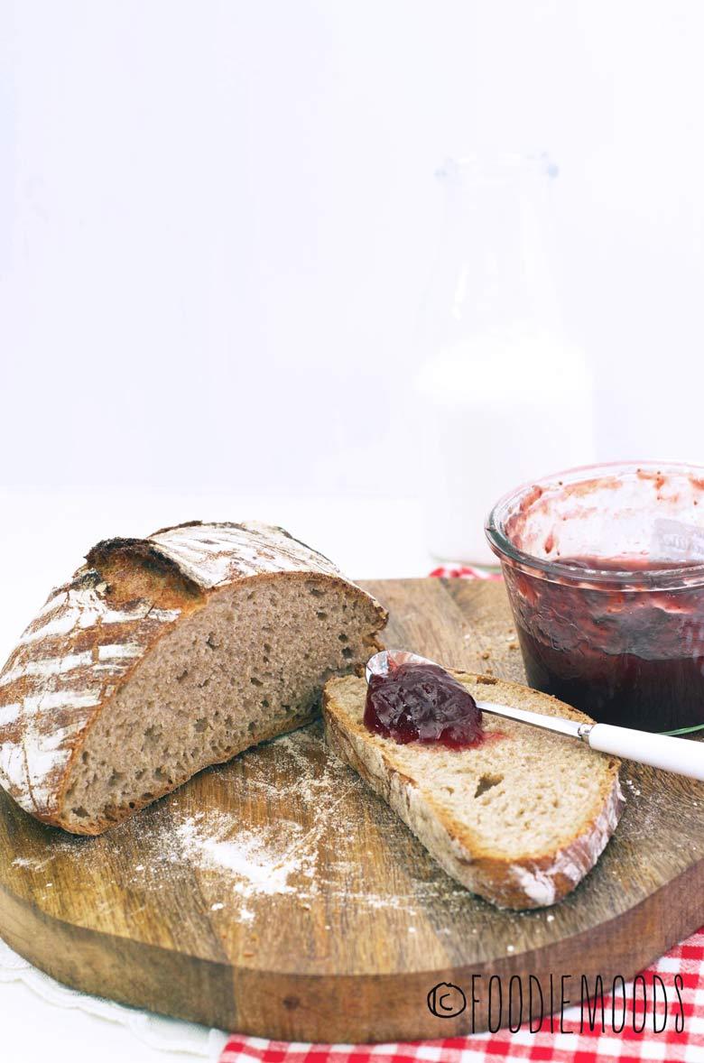 brood zonder kneden recept miss foodie